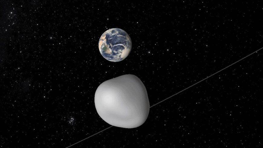 Земята се размина с най-големия регистриран досега астероид