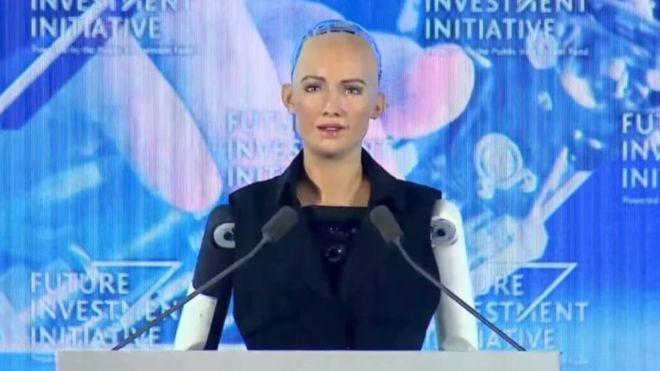 Саудитска Арабия даде специален вид гражданство на робот