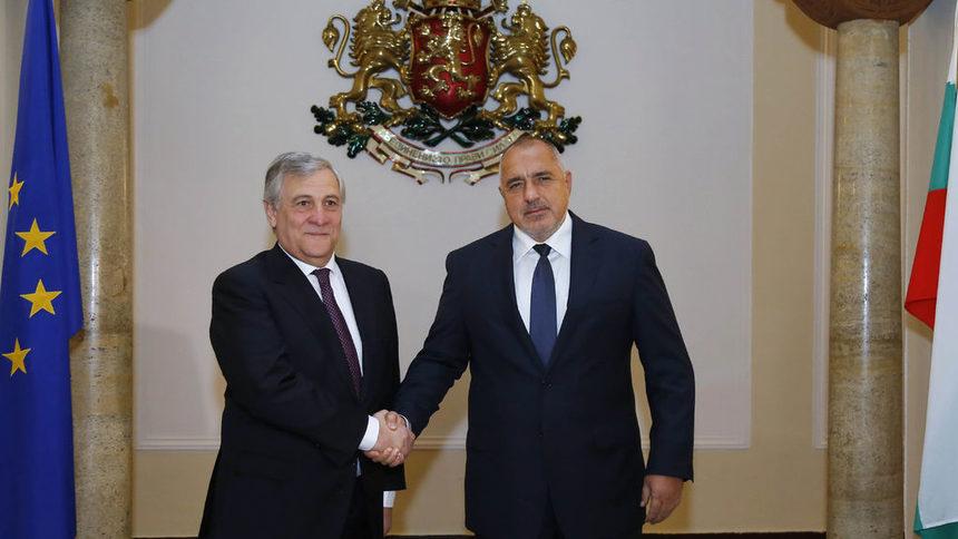 Борисов към Таяни: Не сме евроскептици