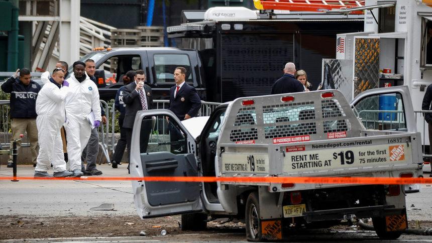 """""""Ислямска държава"""" пое отговорност за нападението в Манхатън"""