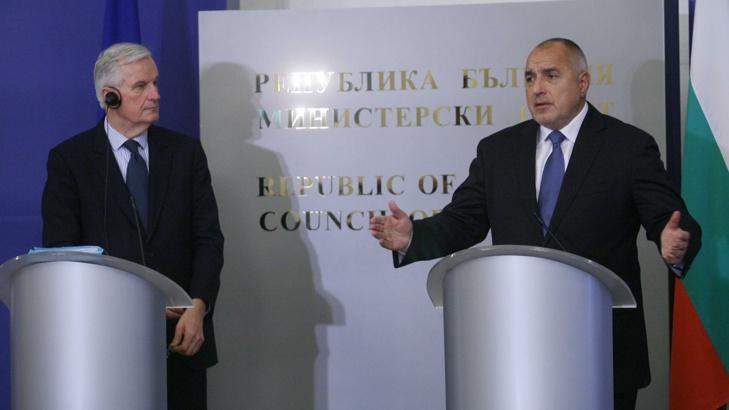 Бойко Борисов: Мишел Барние е на наша страна