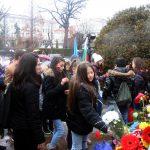 Поклонение пред Паметника на Апостола в София (снимки)