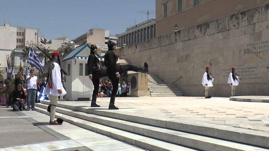 """Протести """"за"""" и """"против"""" името на Македония блокират Атина"""