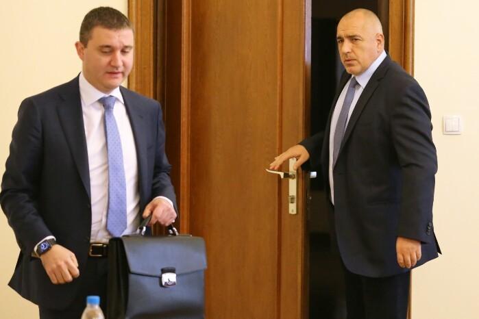 БОЕЦ дава Борисов и Горанов на Цацаров заради източено ДДС