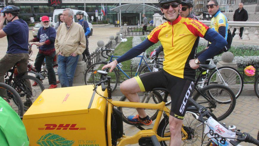 Велошествие и велокарнавал отбелязаха настъпването на пролетта
