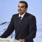 Катарският емир акостира в София