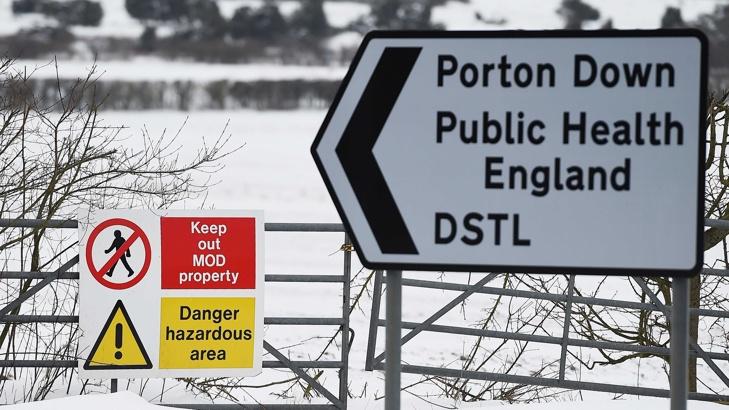 """Британска военна лаборатория идентифицира газа като """"Новичок"""""""