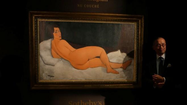 """157 млн. долара за """"Лежаща гола"""" на Амедео Модиляни"""