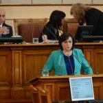 Нинова: Такова чудо няма – година премиерът не е стъпвал в парламента