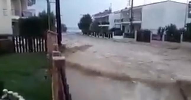 Халкидики пострада най-много от валежите в Гърция