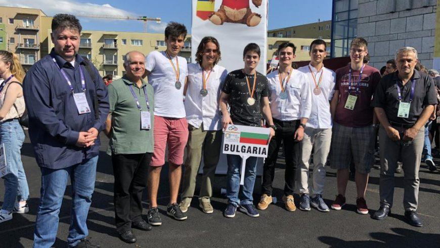 България спечели пет медала от олимпиада по математика