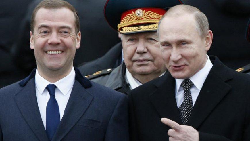 Путин и Медведев предупредиха НАТО да не приема Грузия