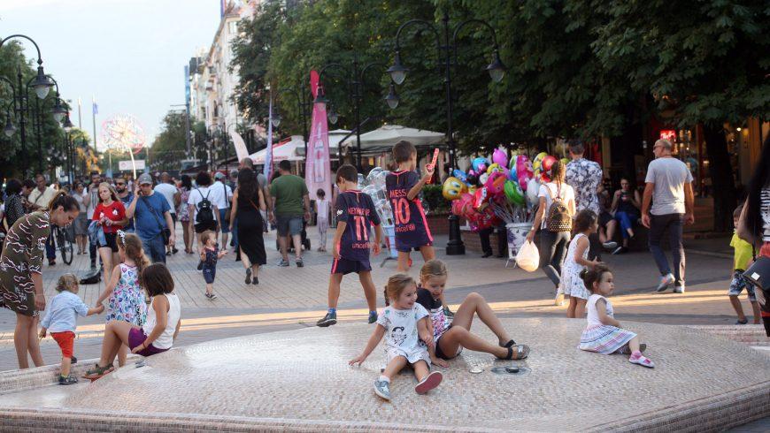 Лято в София