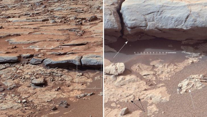 Учени откриха нови доказателства за живот на Марс