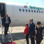 Как Бойко Борисов полетя на крилете на ДС