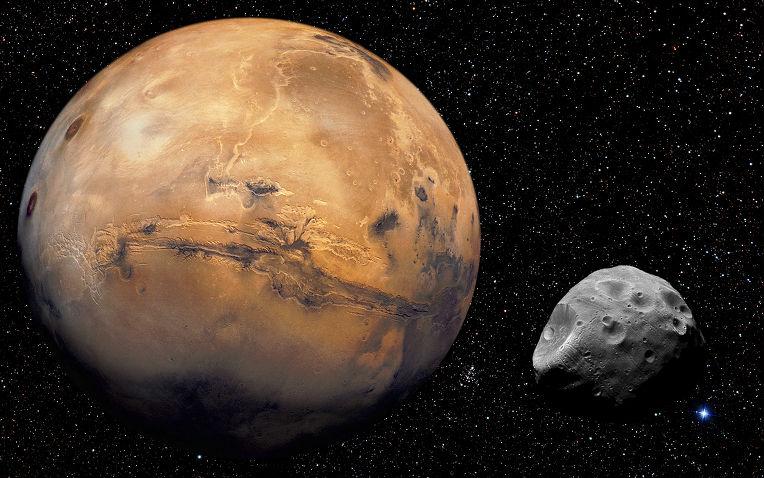 Учени разгадаха мистерията на спътника на Марс Фобос