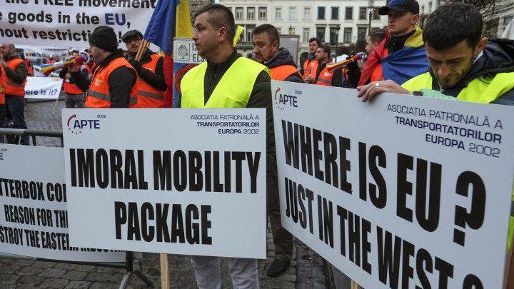 """Европарламентът отхвърли всички искания на България по пакета """"Мобилност"""""""