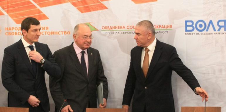 Марешки ще оглави листата на коалиция с леви и десни отломки за евроизборите