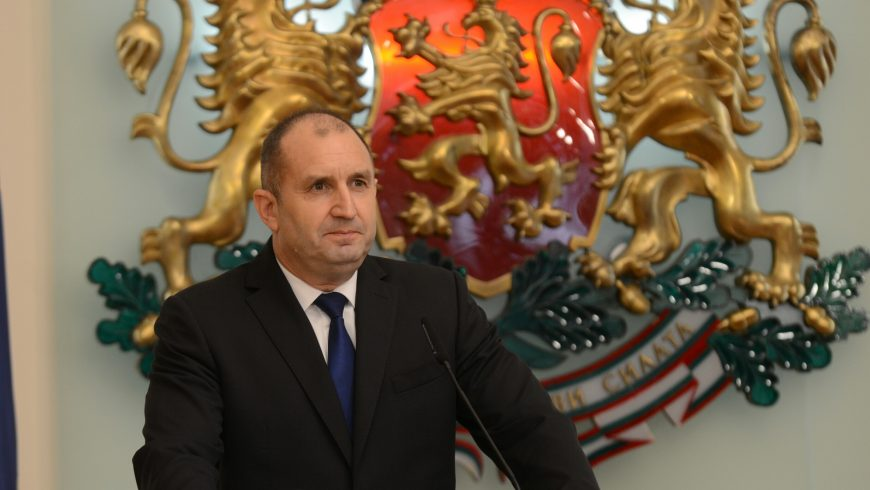 Can president Radev stir the swamp