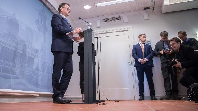 Финландското правителство подаде оставка