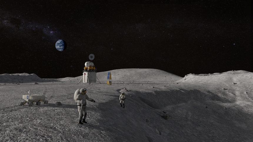 НАСА иска да има астронавти на Луната през 2024 г.