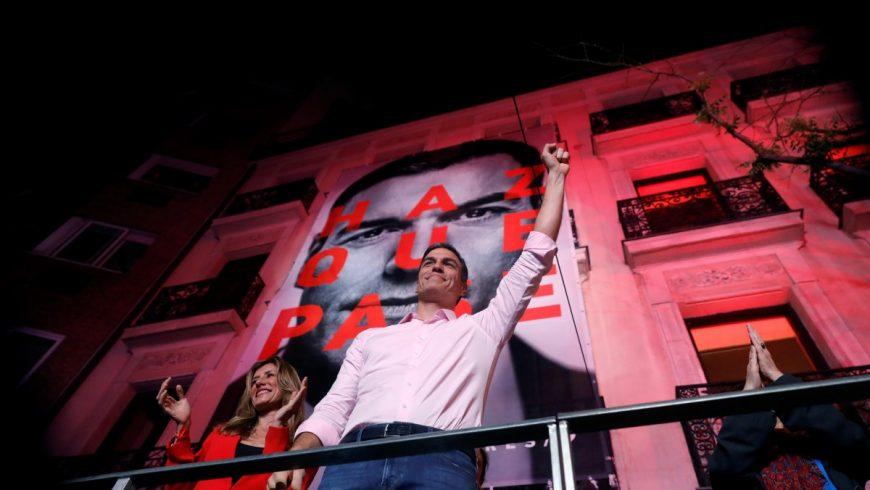 Социалистите на Педро Санчес в Испания печелят парламентарните избори