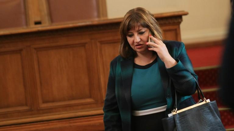 Анна Александрова е новият шеф на правната комисия в парламента