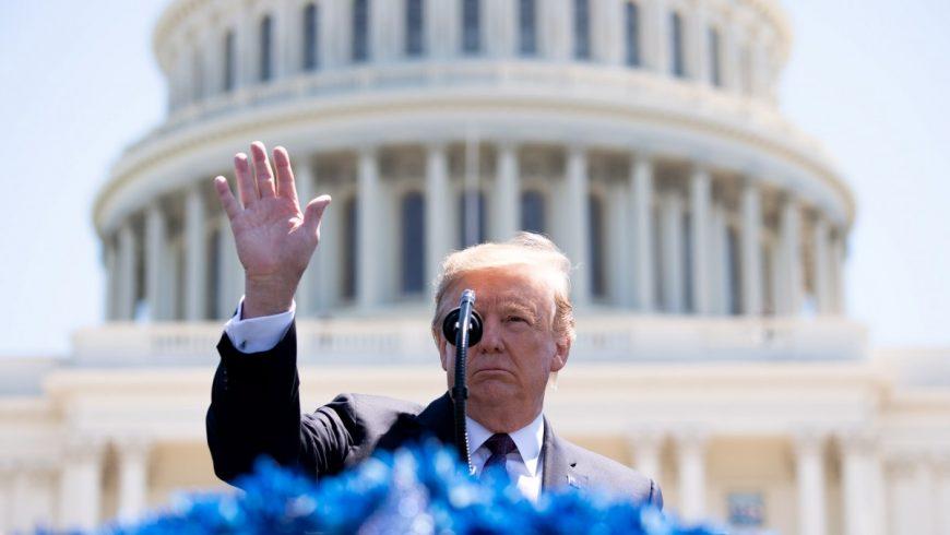 Тръмп обяви национално извънредно положение
