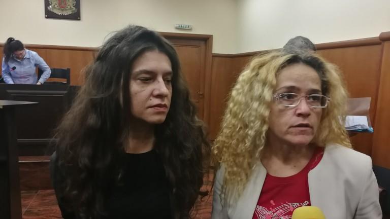 Иванчева и Петрова с жалба до Лозан Панов, техни лични данни в интернет