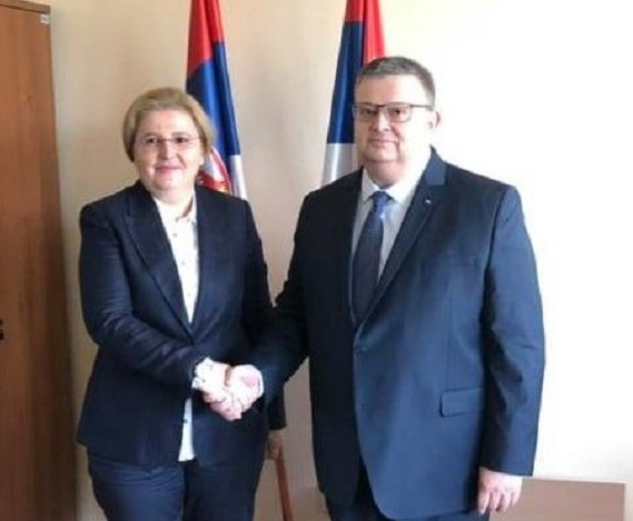 Главният прокурор Сотир Цацаров е на работно посещение в Сърбия