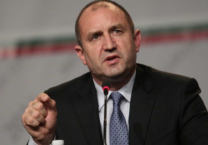 Румен Радев обяви Иван Гешев за главен прокурор и апелира за промяна на Конституцията