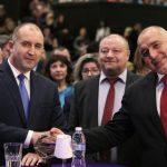 Борисов и Радев се сдобриха на рождения ден на КНСБ