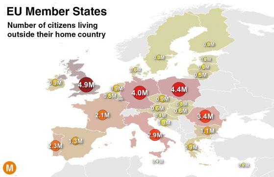 Миграцията днес: картина в цифри