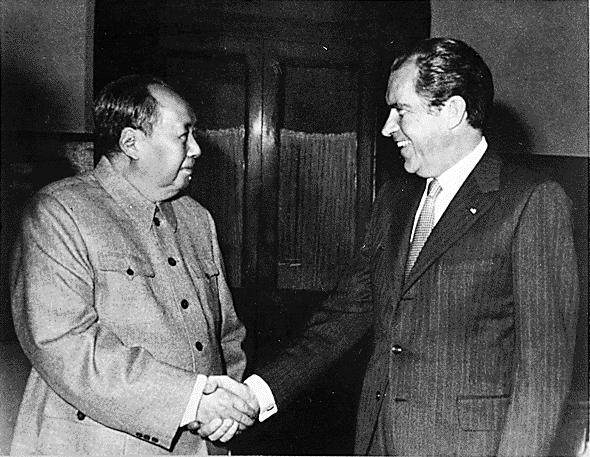 """Резултат с изображение за """"Ричард Никсънв Китай"""""""