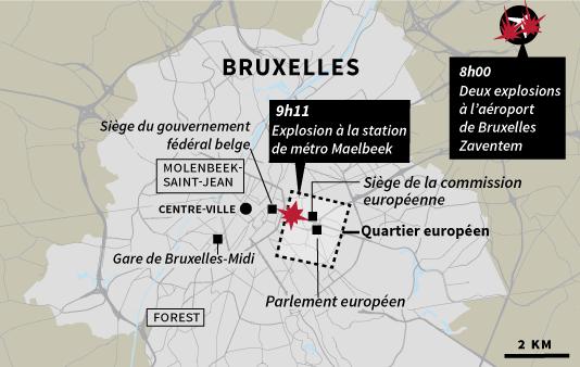 Десетки жертви след атентат в Брюксел
