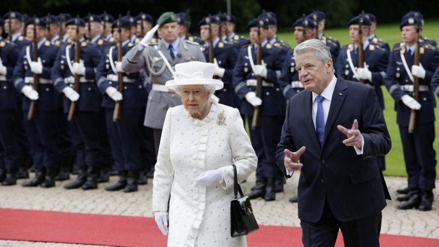 Кралица Елизабет ІІ в Германия