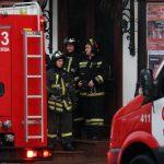 Пожар в московска печатница