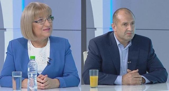 Дебат между Радев и Цачева тази вечер