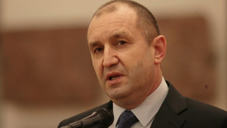 """Румен Радев: Политиците да се държат отговорно на тема """"Сигурност"""""""