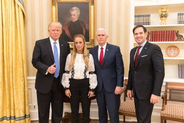 Тръмп разбуни и Венецуела