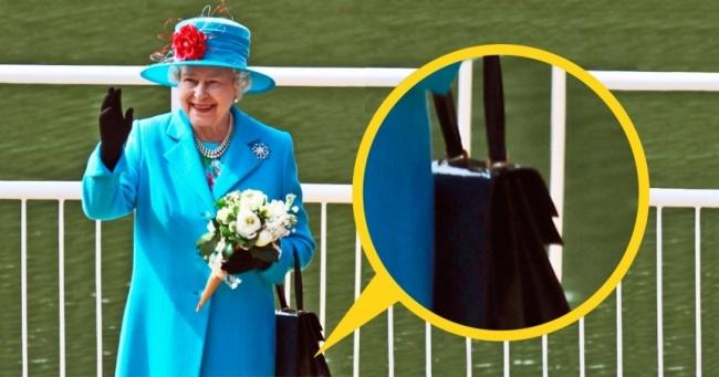 Защо английската кралица винаги носи чанта?