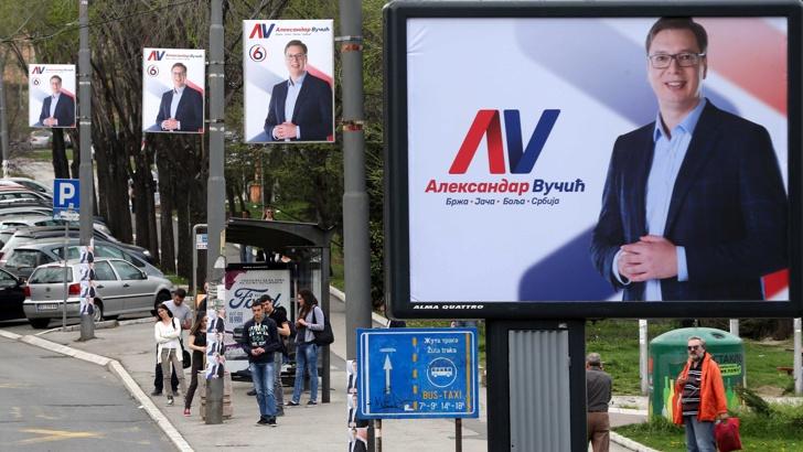 Съседна Сърбия днес избира президент