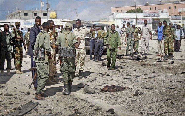 Предрешен като военен се взриви във военна база в Могадишу