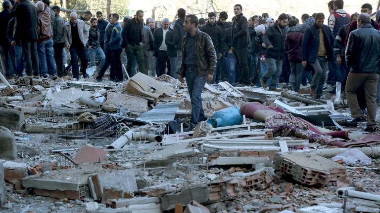 Голяма експлозия в Диарбекир