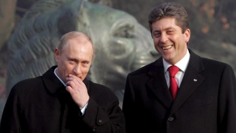 """Първанов приветства """"Малкия шлем"""" на правителството с Газпром"""