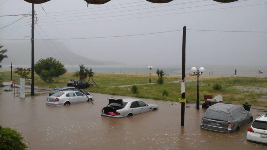 Порои и наводнения в Гърция и в Турция