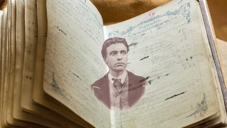 Националната библиотека показва тефтерчето на Левски