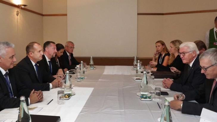 Щайнмайер: Германският бизнес очаква работеща правосъдна система в България