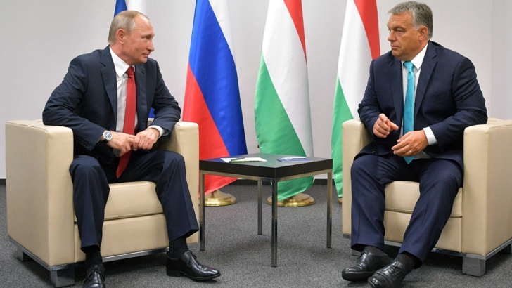 Унгария се отдръпва от Кремъл