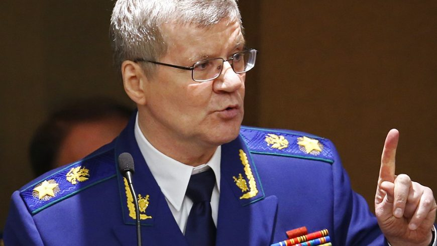 Руският генерален прокурор Юрий Чайка ще гостува на Цацаров